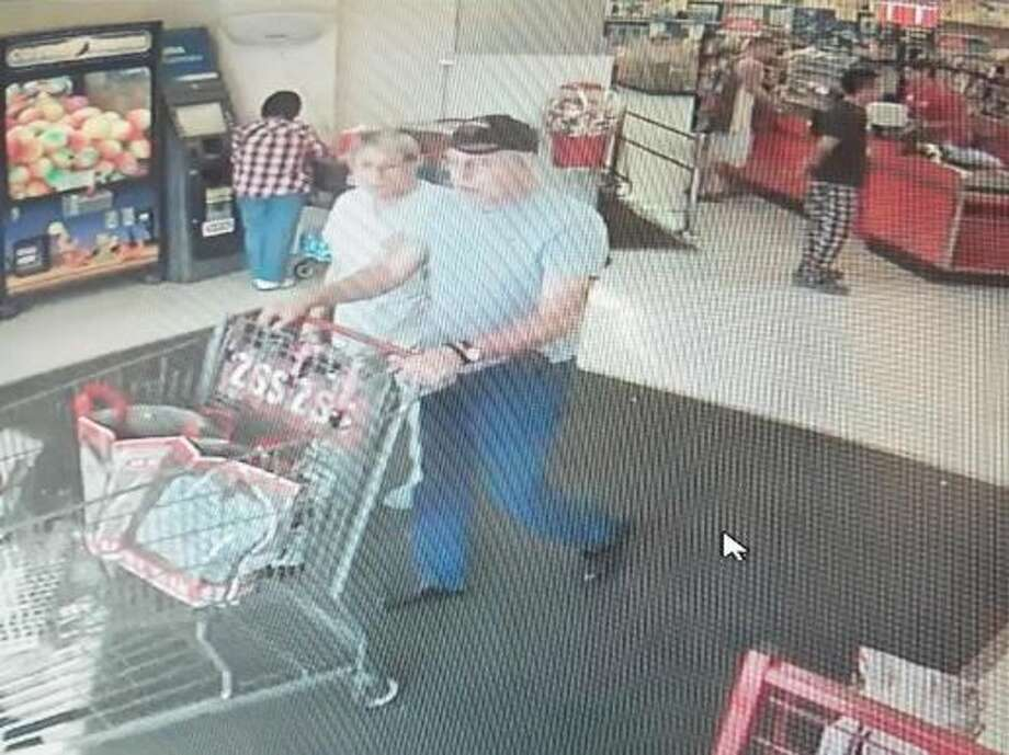 Laredo police said they are looking for this couple as persons of interest in a theft case. Photo: Laredo Police Department