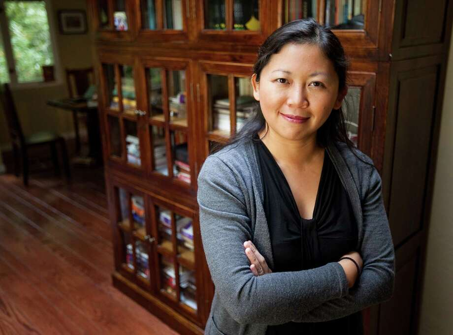"Trained as a scientist, Yiyun Li's writing earned her a MacArthur ""genius grant."" Photo: Getty Images / 2010 Getty Images"