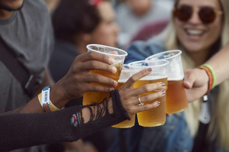 Tower of the Americas Beer Festival attendees can sample more than 70 beers from 24 breweries. Photo: Klaus Vedfelt/Getty Images