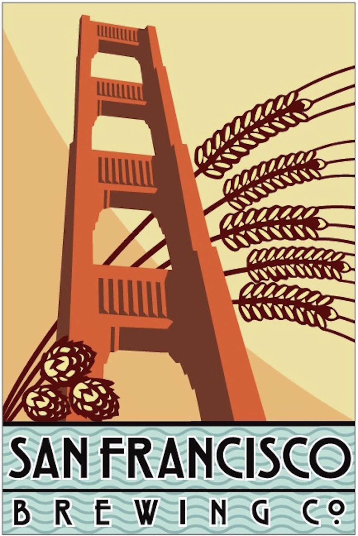 San Francisco Brewing Co. logo. Photo via Facebook