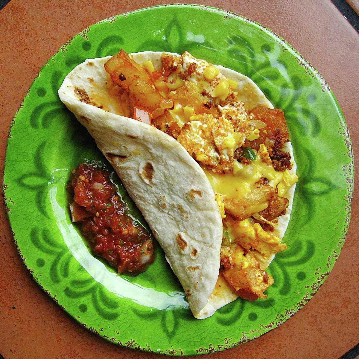 Taco Riendo. 6624 San Pedro Ave., 210-824-9130, tacoriendotx.com