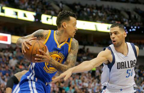 d06357a32f5 The Golden State Warriors  Matt Barnes (22) comes down with a rebound in
