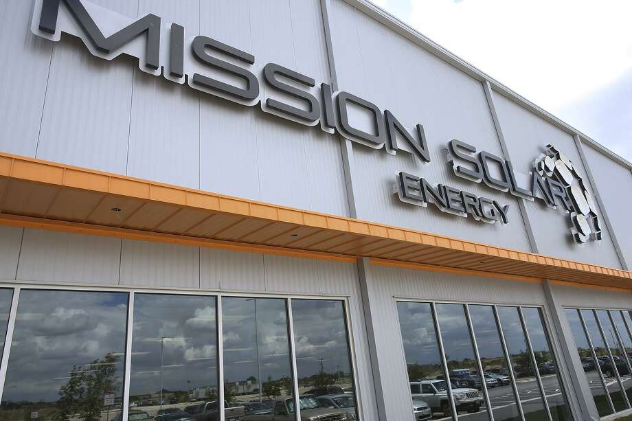Brooks took over ownership of the land that Mission Solar Energy's headquarters and manufacturing facility sits on after more than a year of Mission Solar controlling it. Photo: San Antonio Express-News File Photo