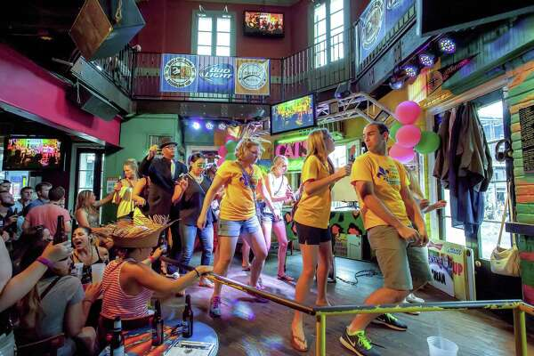 The Cats Meow is a sprawling two-level karaoke bar in New Orleans. A karaoke enthusiast turns a road trip from Brooklyn to Los Angeles into a tour of karaoke bars along the way.