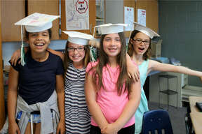 Elkton-Pigeon-Bay Port Lakers recently held a fifth grade graduation ceremony.
