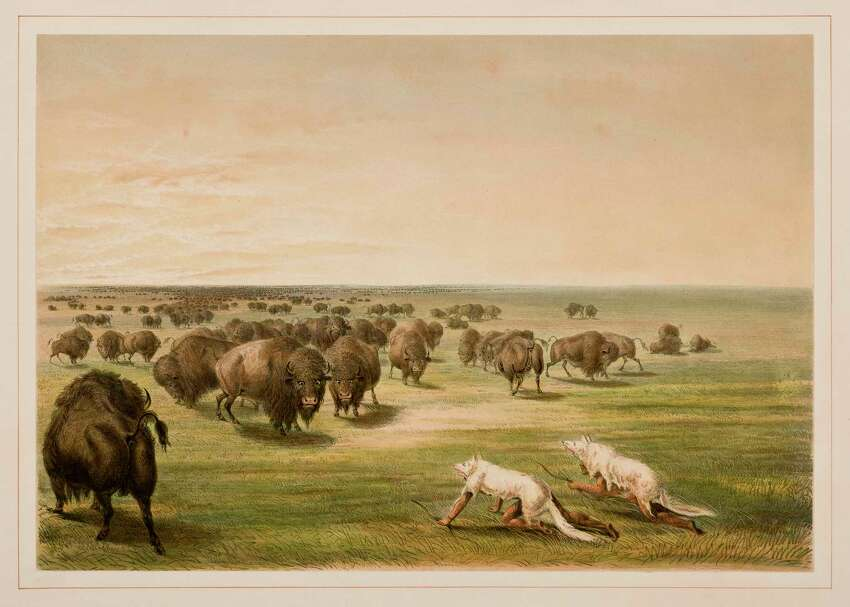 From 1832 to 1837, artist George Catlin spent the summer months sketching the American Indian tribes of the Great Plains.