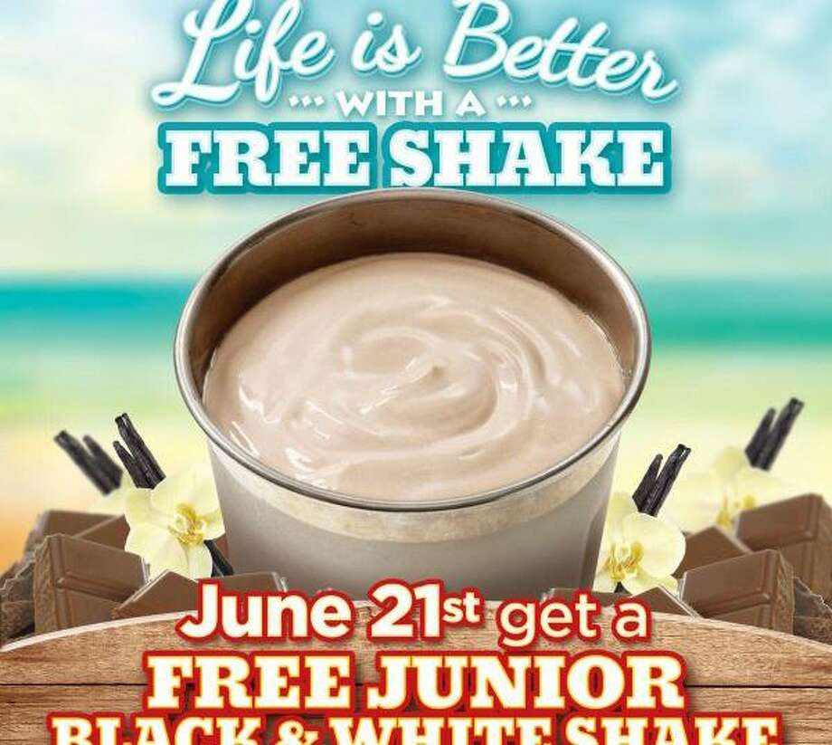 "A 2015 promotion for Wayback Burgers' ""Free Shake Day""."