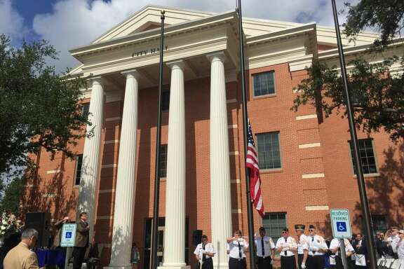 City of Katy officials are beginning the second phase of improvements to the city's downtown. They opened a new, 33,000-square-foot city hall about a year ago before focusing on other downtown projects.