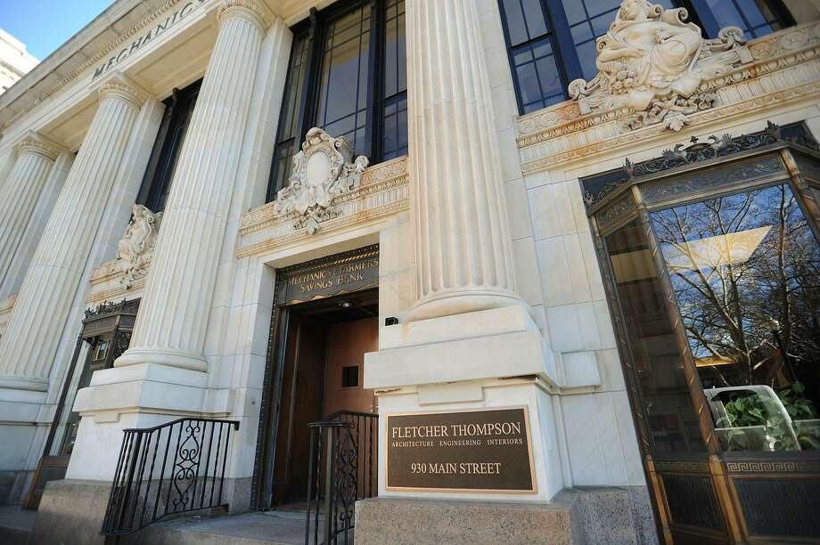 Fletcher Thompson's former ffices in the renovated Mechanics & Farmers Bank building at 930 Main Street in Bridgeport Photo: Brian A. Pounds / Brian A. Pounds / Connecticut Post