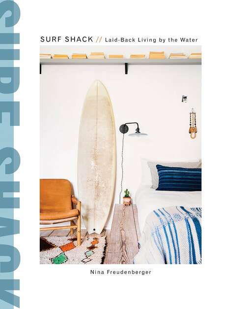 Surf Shack book cover. Photo: Reprinted From Surf Shack. Copyright � 2017 By Nina Freudenberger. Photographs Copyright � 2017 By Brittany Ambridge. Published By Clarkson Potter/Publishers, An Imprint Of Penguin Random House LLC.
