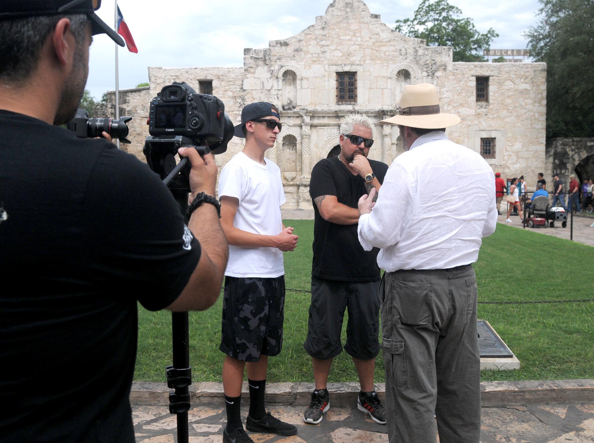 Food Network Star Guy Fieri Visits San Antonio Restaurants