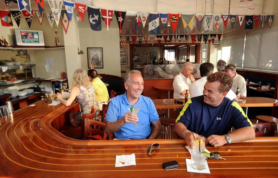 The bar at Walnut Creek Yacht Club in 2009. Photo: Noah Berger, Special To The Chronicle