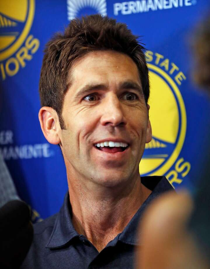 """As a """"long-view guy,"""" Warriors GM Bob Myers is willing to stay the course. Photo: Scott Strazzante, The Chronicle"""