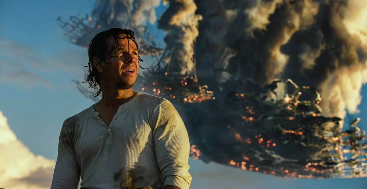 This image released by Paramount Pictures shows Mark Wahlberg as Cade Yeager in a scene from,