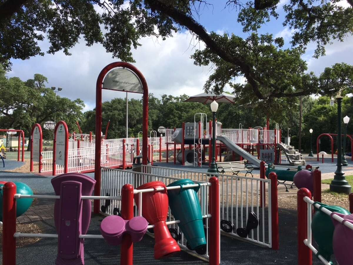 League City is planning upgrades to League Park as part of a downtown revitalization project.