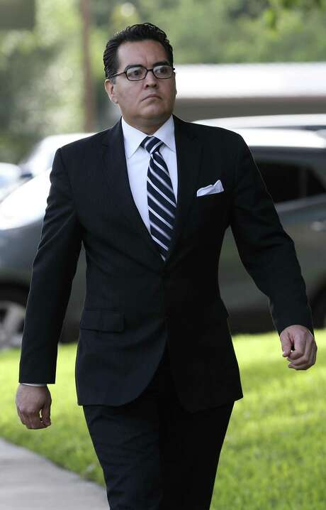 Former Crystal City mayor Ricardo Lopez, arriving at Federal Court in Del Rio, on June 19, is, along with four other former officials, awaiting sentencing on corruption charges. Such incidents hurt cities immensely. Photo: JERRY LARA /San Antonio Express-News / © 2017 San Antonio Express-News