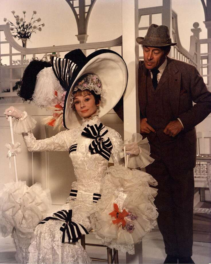 "Audrey Hepburn and Rex Harrison starred in the 1964 Academy Award-winning film ""My Fair Lady."" Photo: HANDOUT, KRT"