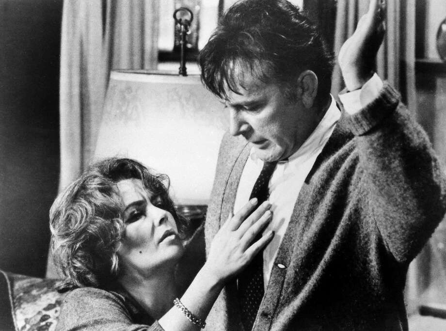 """Elizabeth Taylor and Richard Burton achieve their screen zenith, together and separately, in the Mike Nichols film """"Who's Afraid of Virginia Woolf?"""" Photo: Anonymous, Associated Press"""