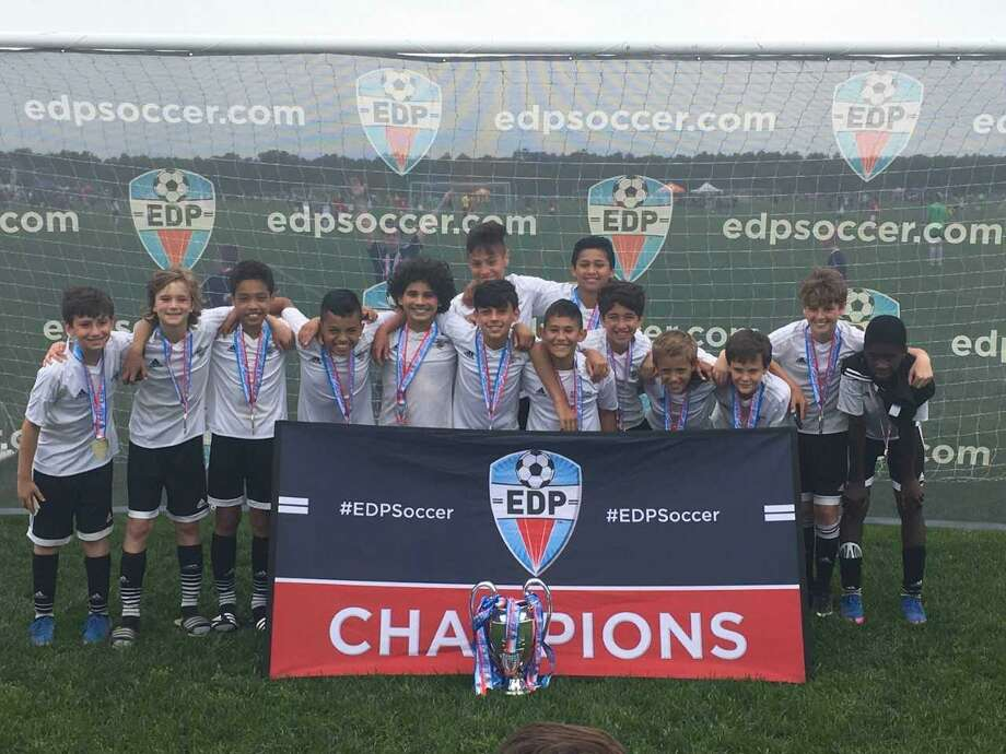 The Stamford U12 Boys Elite earned its way to the East Regionals by winning the Connecticut State Cup earlier this month in Farmington Photo: Contributed Photo