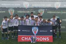 The Stamford U12 Boys Elite earned its way to the East Regionals by winning the Connecticut State Cup earlier this month in Farmington