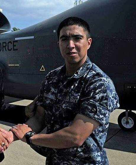 This undated photo released by the U.S. Navy, Monday, June 19, 2017, shows Gunner's Mate 2nd Class Noe Hernandez, 26, from Weslaco, Texas. Hernandez is one of the seven sailors who died in a collision between the USS Fitzgerald and a container ship off Japan on Saturday, June 17, 2017.  (U.S. Navy via AP) Photo: HOGP / U.S. Navy