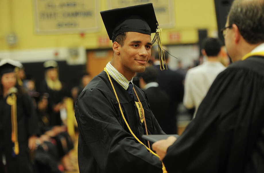 The Trumbull High School Class of 2017 graduation in Trumbull, Conn. on Monday, June 19, 2017. Photo: Brian A. Pounds, Hearst Connecticut Media / Connecticut Post