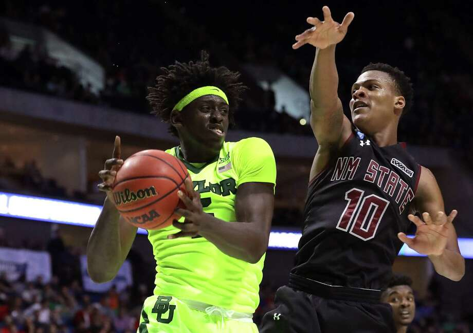 Baylor's Johnathan Motley is the type of player who likely will be gone but could conceivably slip to the Rockets at No. 43. Photo: Ronald Martinez, Staff / 2017 Getty Images