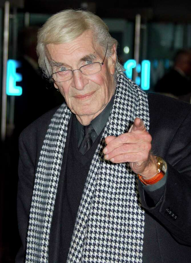 "Martin Landau arrives at a gala screening for Tim Burton's ""Frankenweenie"" during the London Film Festival at The Odeon, Leicester Square on Wednesday, Oct. 10, 2012 in London. (Photo by Joel Ryan/Invision/AP) Photo: Joel Ryan / Invision"