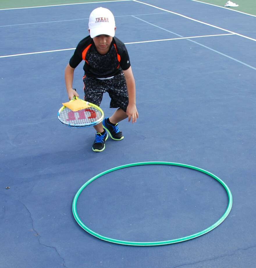 Laredo Tennis Association Young Racquets summer camp Photo: Courtesy Photo