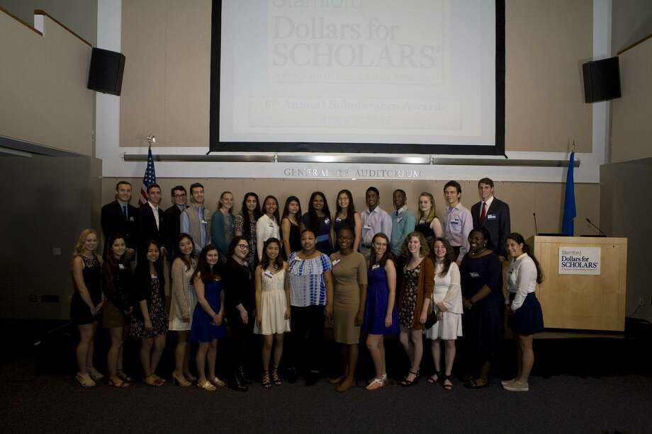 Dollars for Scholars awarded 29 Stamford high school students $97,500 in scholarships at an awards ceremony June 8. Photo: Christopher J Rivera 8972 /