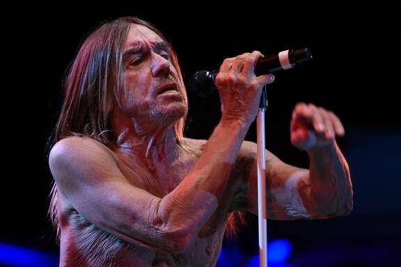 American singer Iggy Pop performs on stage during the 23th edition of the Cognac Blues Passion festival in Cognac on July 6, 2016. / AFP / GUILLAUME SOUVANT        (Photo credit should read GUILLAUME SOUVANT/AFP/Getty Images)