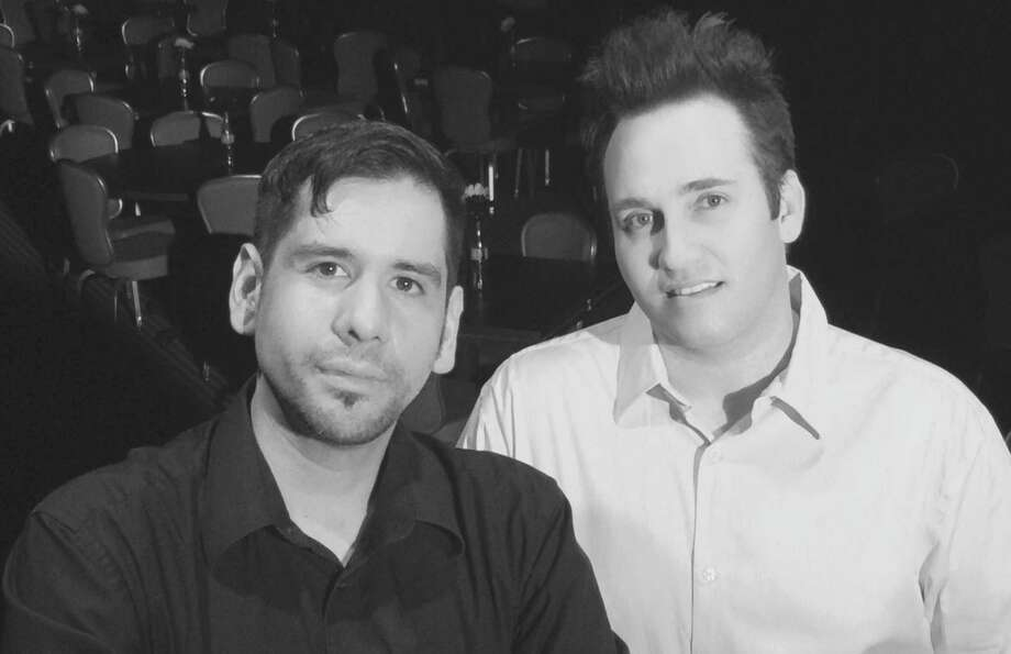 Robert Olivas (from left) and Shawn Kjos run The Harlequin (formerly the Harlequin Dinner Theatre). Photo: Courtesy Photo