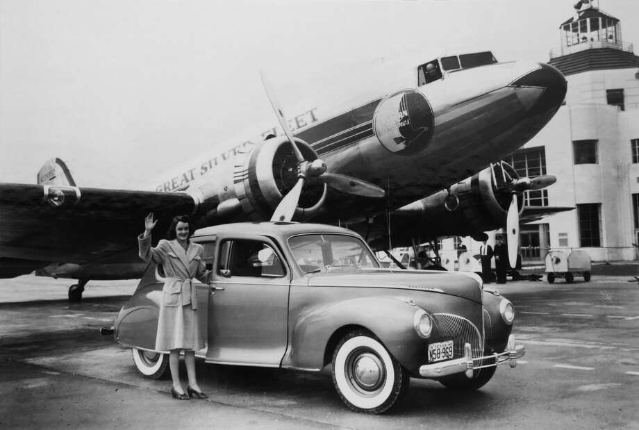 Hobby Airport turned 90 years old in June 2017. It has gone through many name changes, including Howard Hughes Airport and Houston Municipal Airport, and expansions over the years. This photo from 1940 was provided by the 1940 Air Terminal Museum.Continue for more photos of Hobby Airport in its early years. / The 1940 Air Terminal Museum