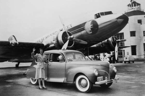 Hobby Airport turned 90 years old in June 2017. This photo was provided by the 1940 Air Terminal Museum.