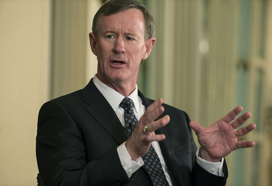 University of Texas System Chancellor Bill McRaven announced heis stepping down in Mayduring a meeting over the phone with the UT System's Board of Regents. Photo: Ricardo B. Brazziell, Associated Press