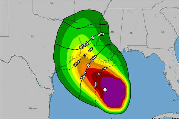 The National Weather Service issued a tropical storm watch Tuesday morning for the Houston region, which includes Harris, Chambers, Liberty and Galveston counties.
