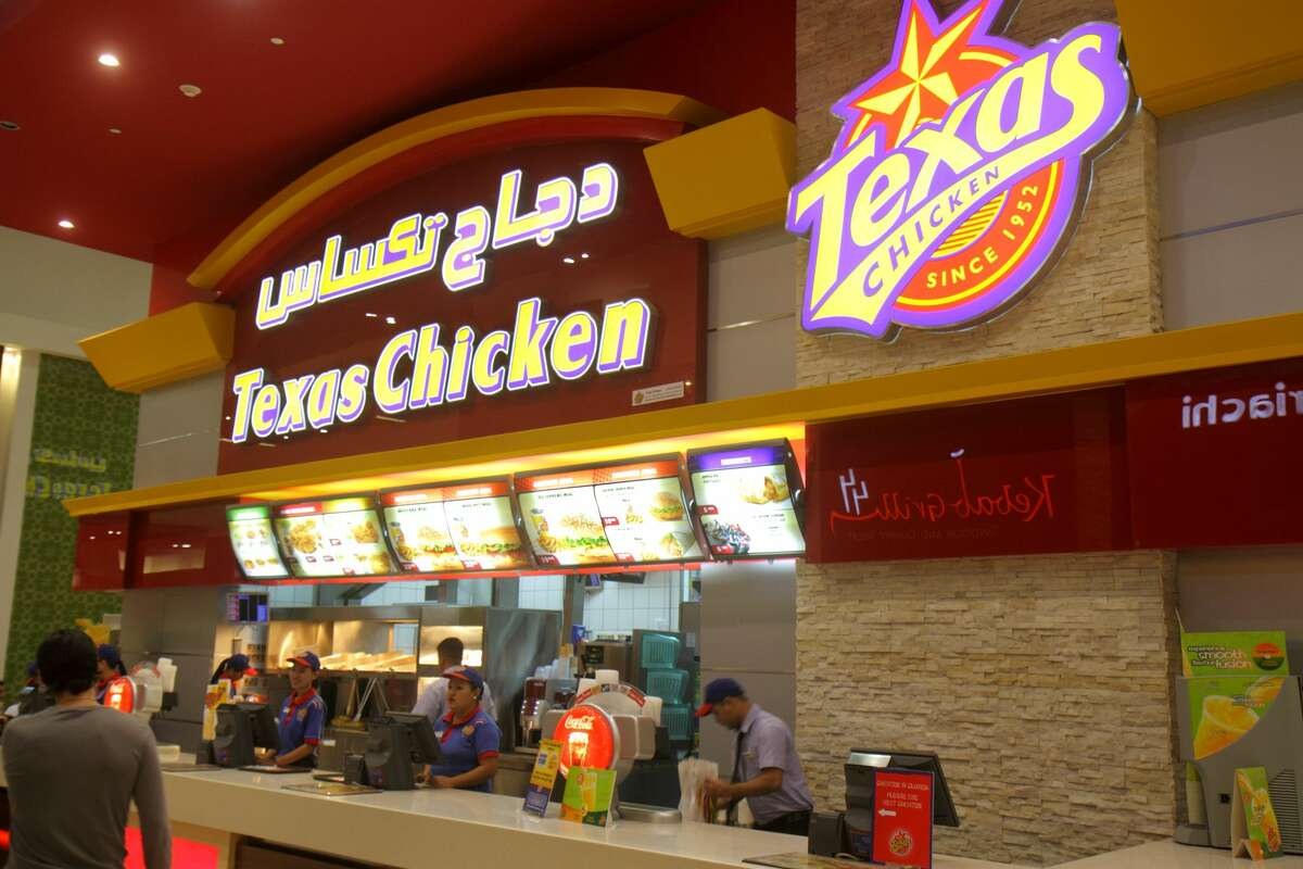PHOTOS: The origins of Texas' favorite businesses and brands Church's Chicken has a slightly different name outside the Americas. Texans will be happy to know our fried chicken knows no borders. In countries as varied as Belarus, Egypt, Indonesia, and New Zealand, Church's is known as Texas Chicken. The logo doesn't look much different and the menu does differ depending on the market. Click through to learn the origins of some of our favorite Texas brands and businesses...