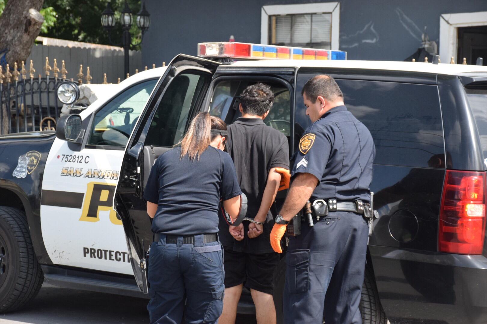 Teen Punk Arrested In Stone Oak Carjacking Joyride Begs