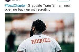 Texas OL Brandon Hodges will transfer