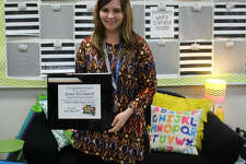 Jenna McCormick recently won a Golden Apple Award from a local television station.