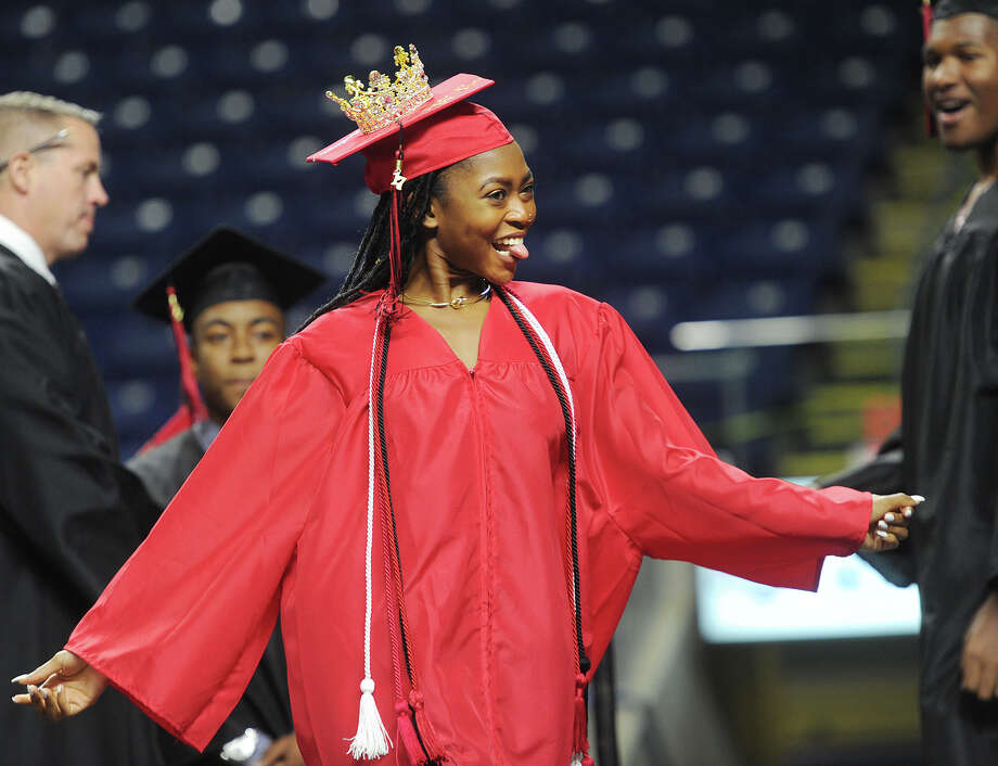 Central High School Graduation at the Webster Bank Arena in Bridgeport, Conn. on Tuesday, June 20, 2017. Photo: Brian A. Pounds, Hearst Connecticut Media / Connecticut Post