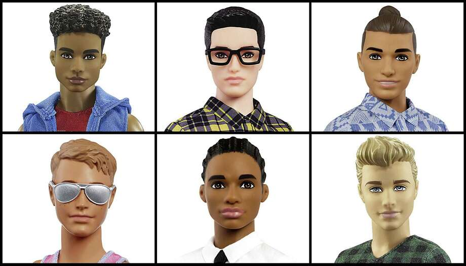 Mattel announced Tuesday that the company is introducing 15 new looks for its Ken doll, giving him new skin tones, body shapes and hair styles. The makeover is part of the toy company's plan to make its dolls more diverse and try to appeal to today's kids, many of whom would rather pick up an iPad than a doll. Barbie received a similar overhaul more than a year earlier. Photo: Mattel / Mattel