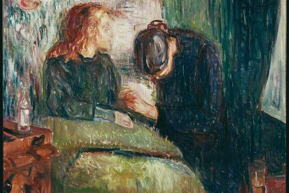 "Edvard Munch, ""The Sick Child"" (1907)"