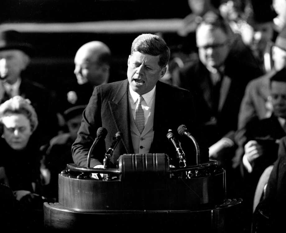 """We have come a long way, a reader says, from the time when President John F. Kennedy asked Americans to focus on """"what they could do for their country."""" Photo: Associated Press File Photos / ap"""