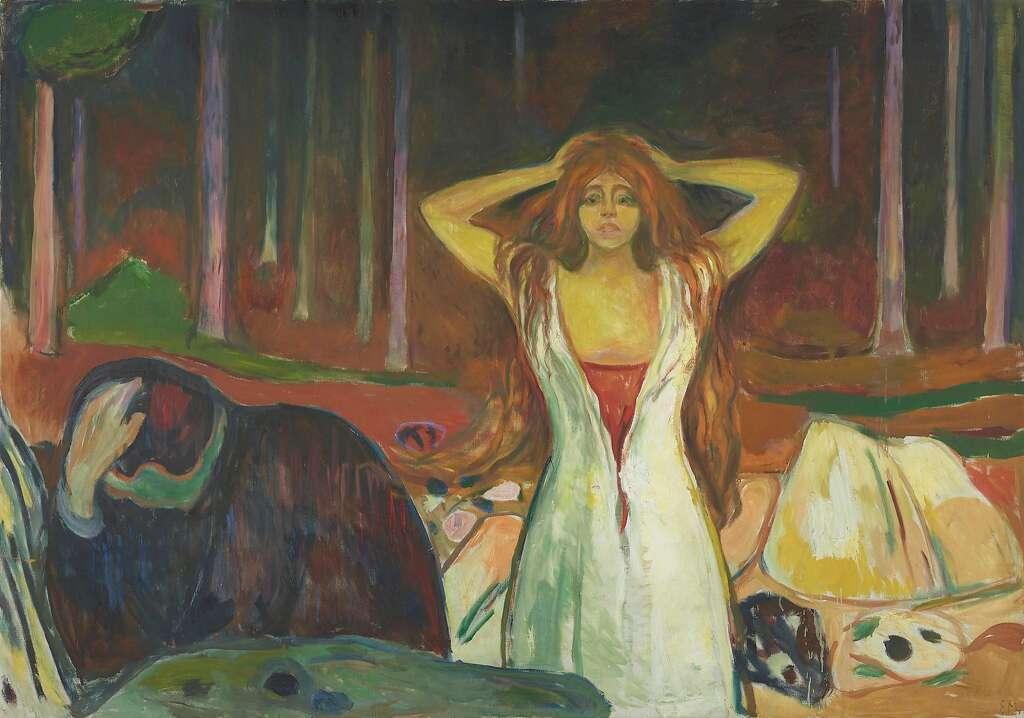 Dark enlightenment of Edvard Munch - SFGate