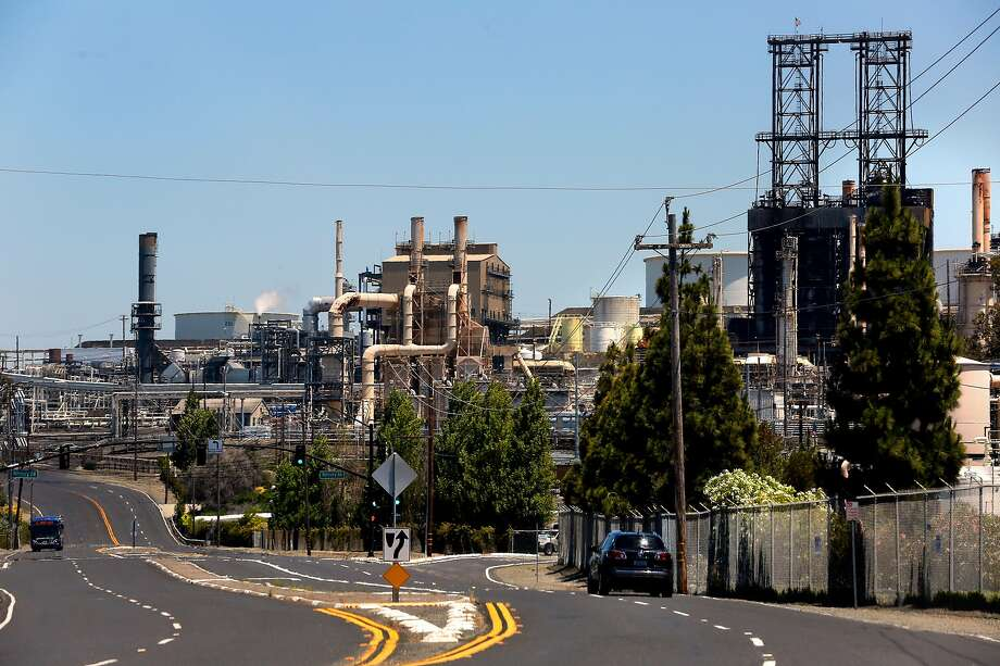 The Phillips 66 refinery in Rodeo, Calif., as seen on Tuesday, June 20, 2017. Photo: Michael Macor, The Chronicle
