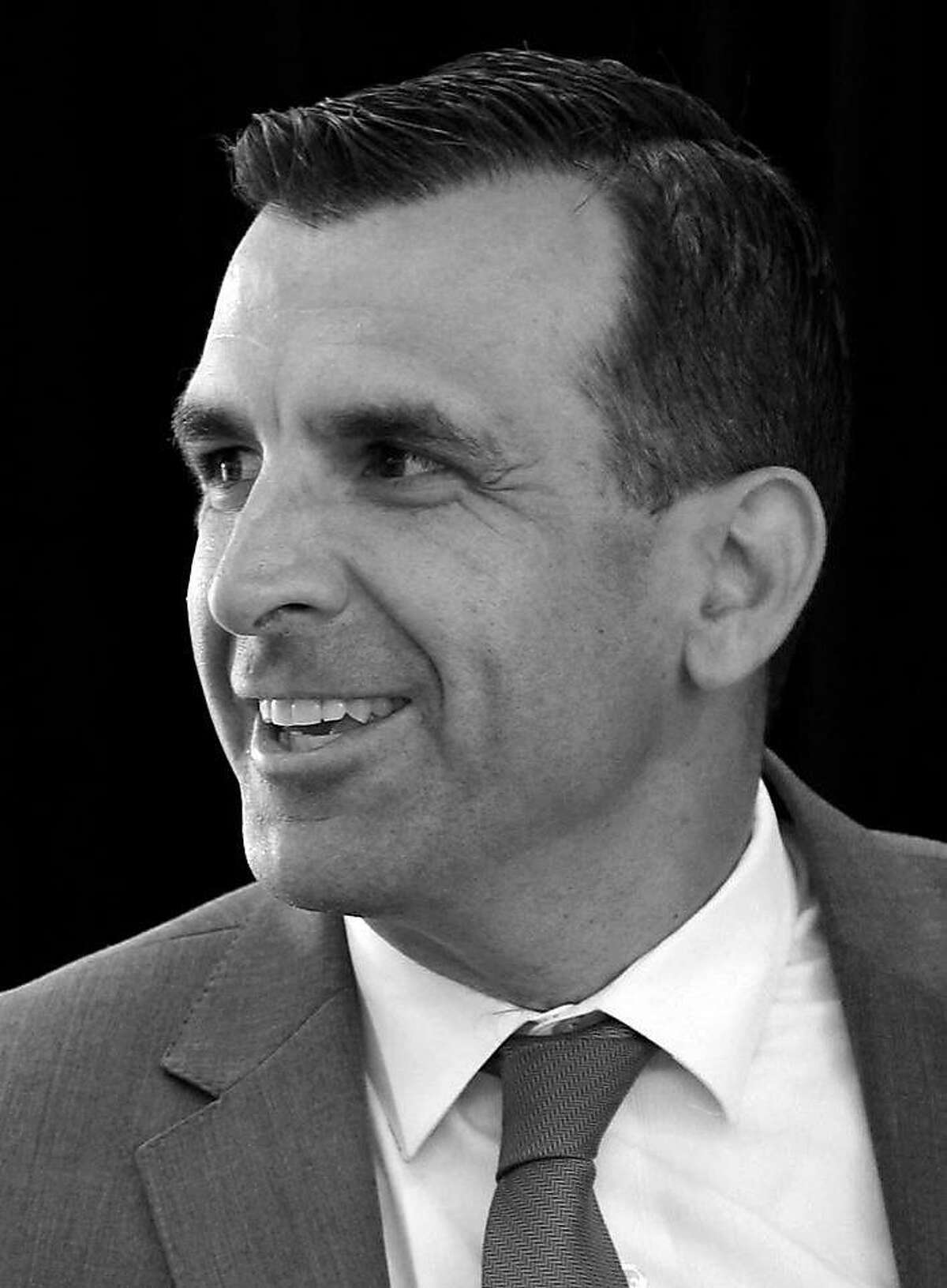 San Jose Mayor Sam Liccardo attends the opening of the Continental Silicon Valley Research and Development Center for automotive technology in San Jose, Calif. on Wednesday, April 12, 2017.