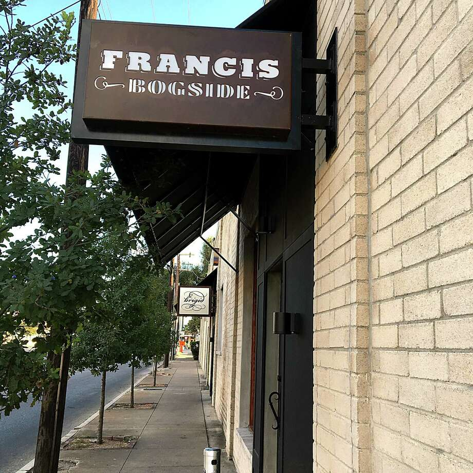 Francis Bogside, the pub on South Saint Mary's Street that was closed by fire on Halloween 2016 is reopening on Halloween. Photo: Mike Sutter, San Antonio Express-News