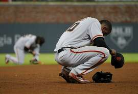 Eduardo Nuñez's reaction during play Monday seems an appropriate symbol of a punchless team that's last in the NL West.