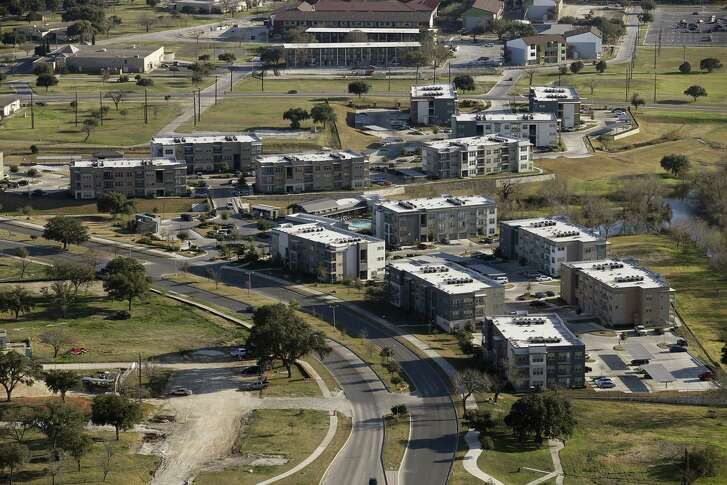 The Landings at Brooks City-Base apartments are in the hottest growth areas of south San Antonio, Thursday, Feb. 18, 2016.